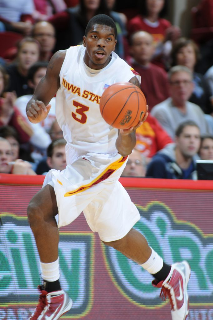 Marquis Gilstrap. (Photo courtesy ISU Athletics Communications)