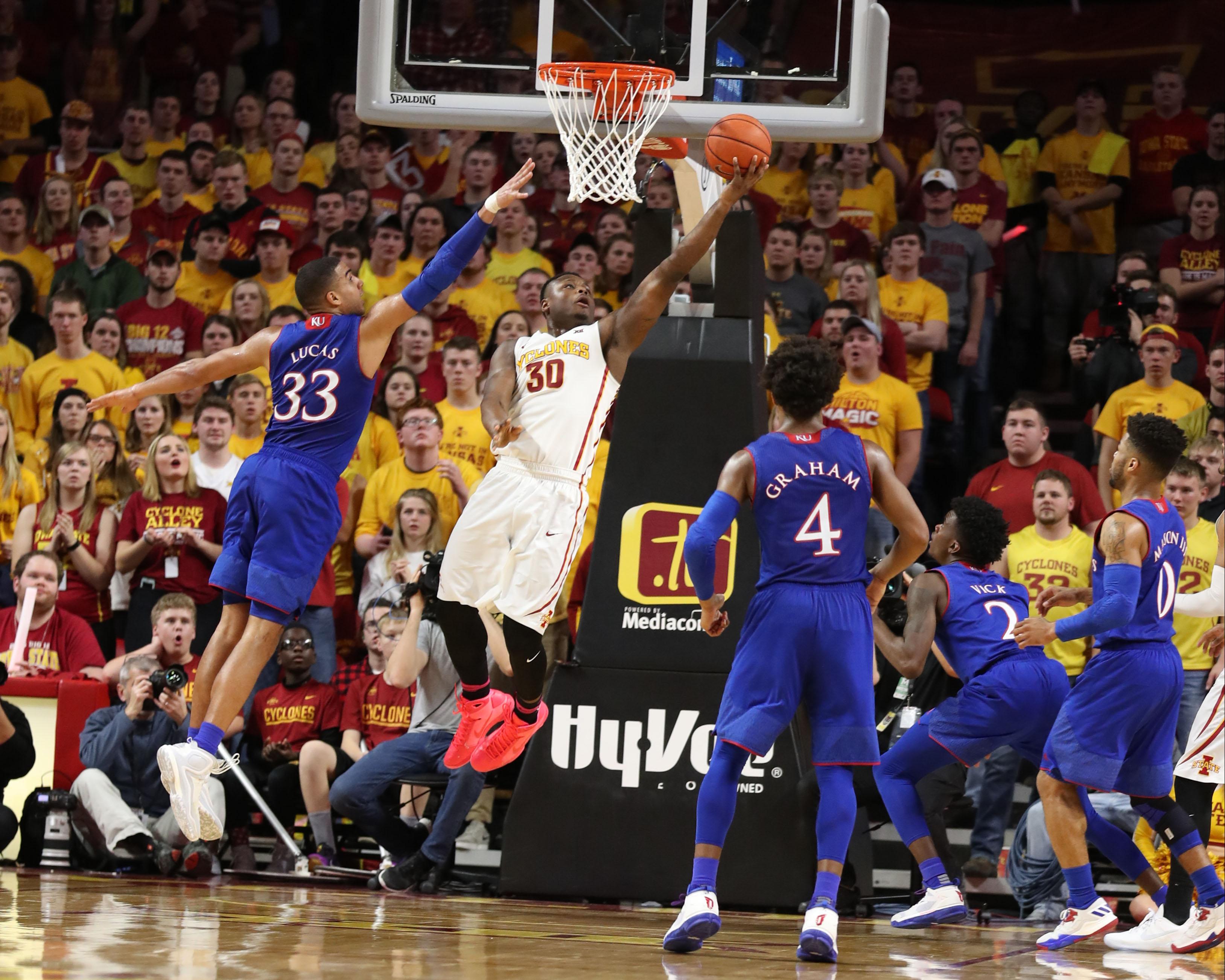 NCAA Basketball: Kansas at Iowa State – CycloneFanatic.com
