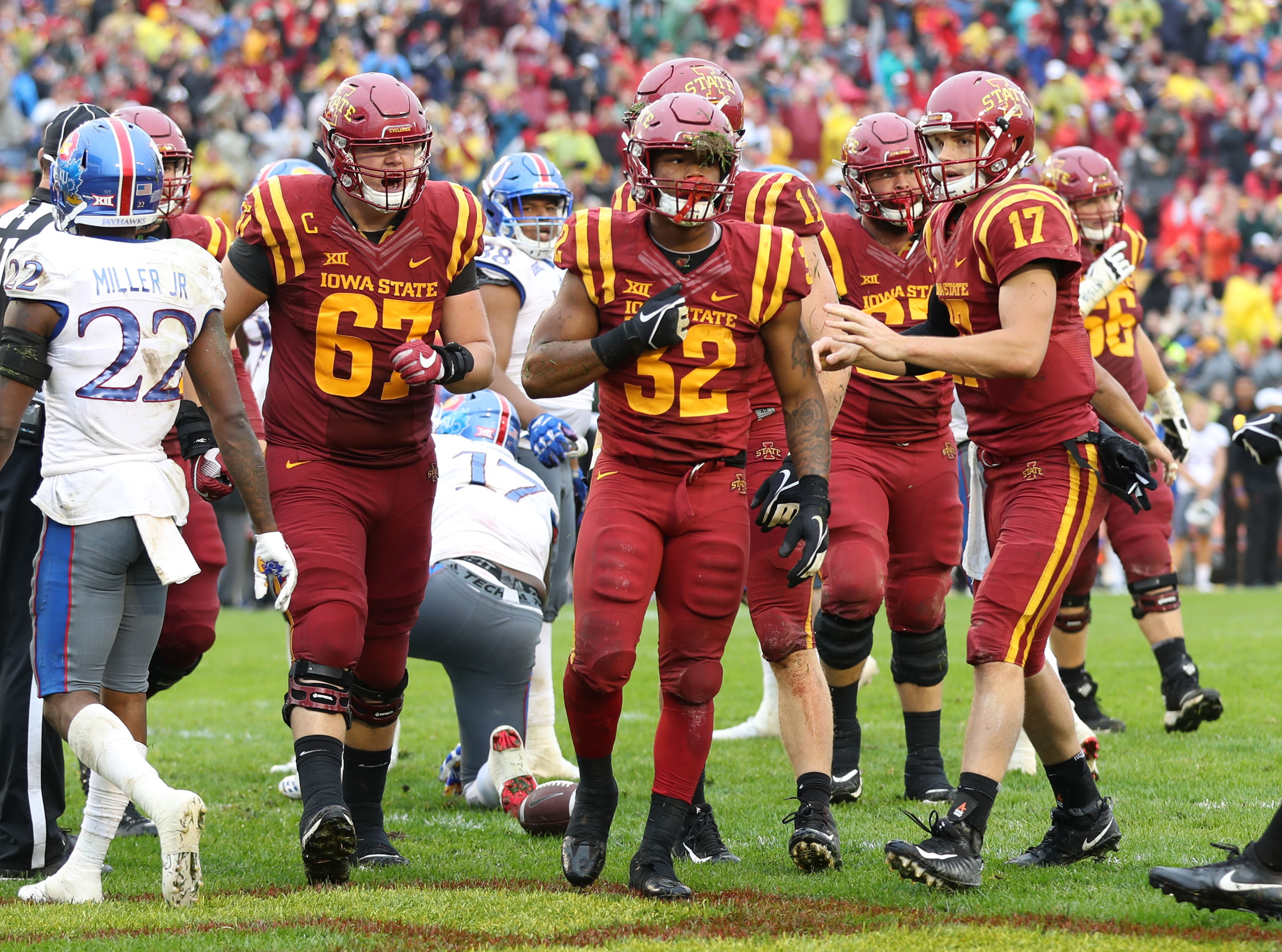 Get the latest Iowa State Football news photos rankings lists and more on Bleacher Report