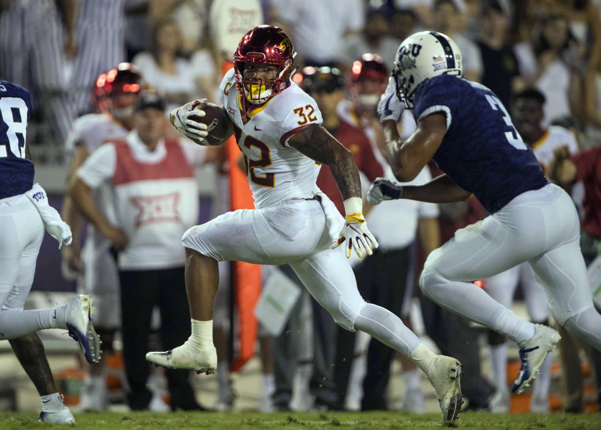 TELECONFERENCE NOTES: David Montgomery day-to-day leading up to Oklahoma State – CycloneFanatic.com