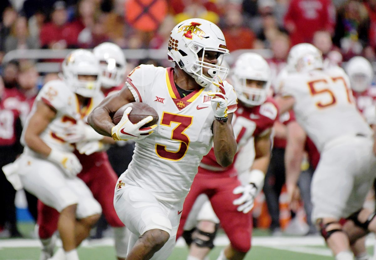 detailed look 81383 6e355 WILLIAMS: Projecting Iowa State's 2019 football depth chart ...