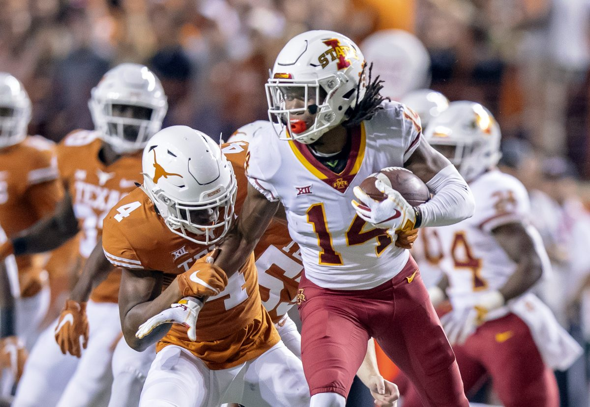 'X' marks the new spot for ISU's budding star receiver ...