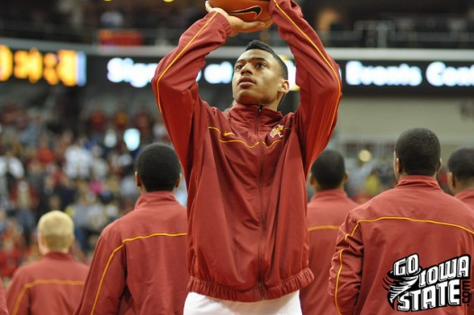Diante GArrett warm up vs