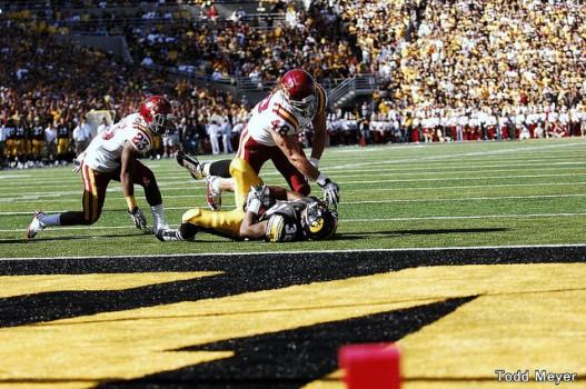 Jacob Lattimer vs Iowa 2010 527x350