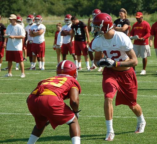 Keith Blanton practice shot