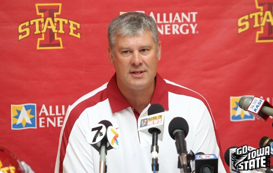 Paul Rhoads Media Day 2011