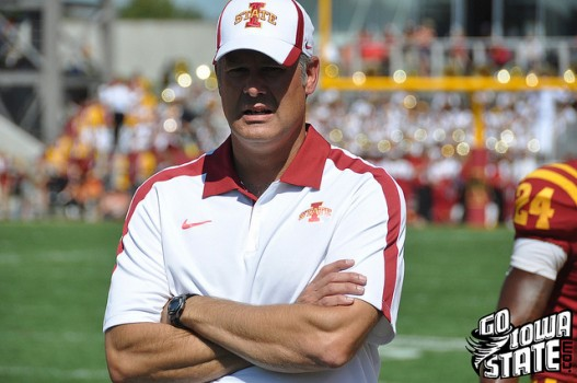 Paul Rhoads close vs Iowa 20112 527x350