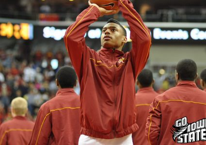 lg Diante GArrett warm up vs