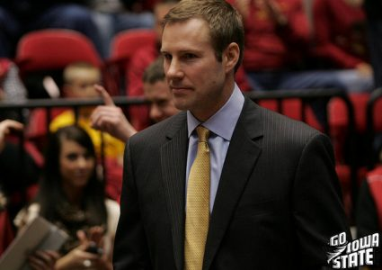 lg Fred Hoiberg smiles senior night 20121