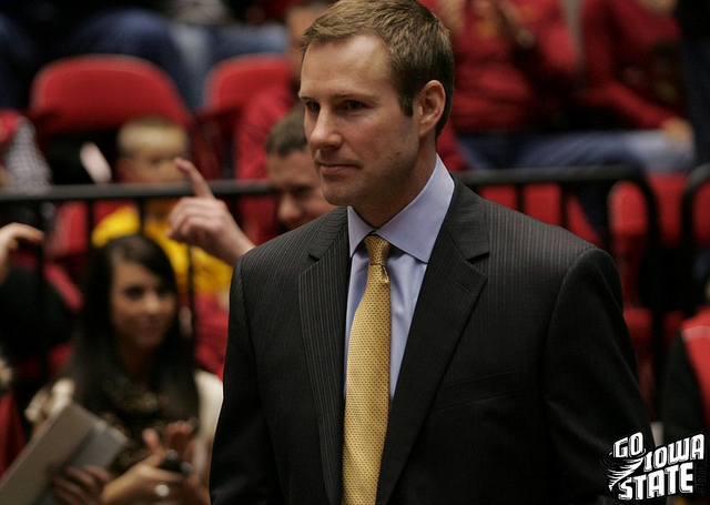 lg Fred Hoiberg smiles senior night 20123