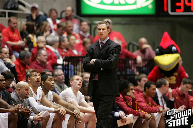 lg Fred Hoiberg stands in front of bench