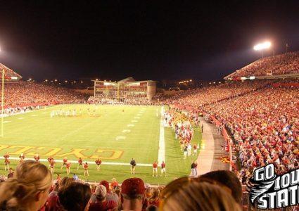 lg Jack Trice Stadium Army 20091
