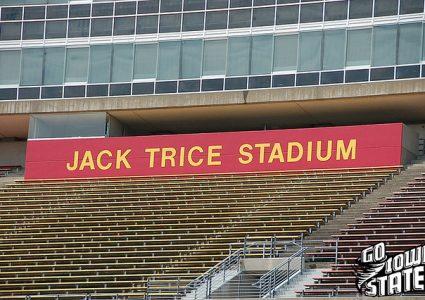 lg Jack Trice Stadium sign