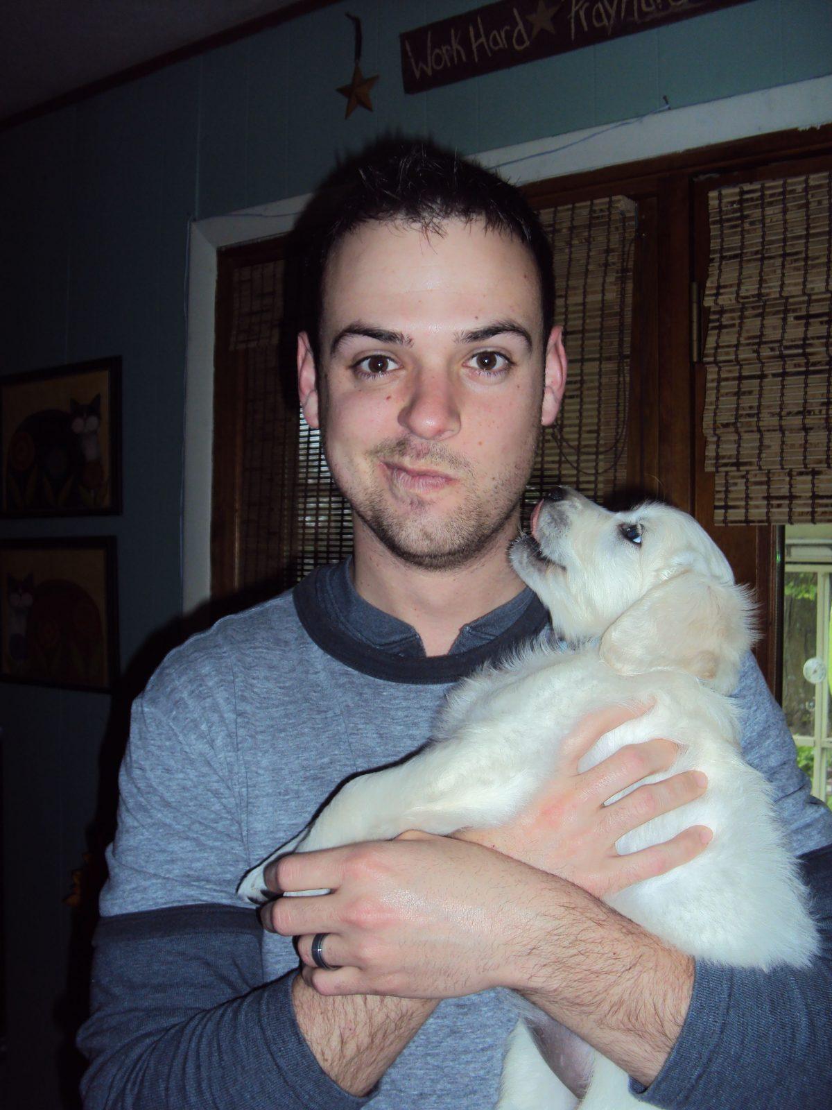 lg Me Paisley puppy