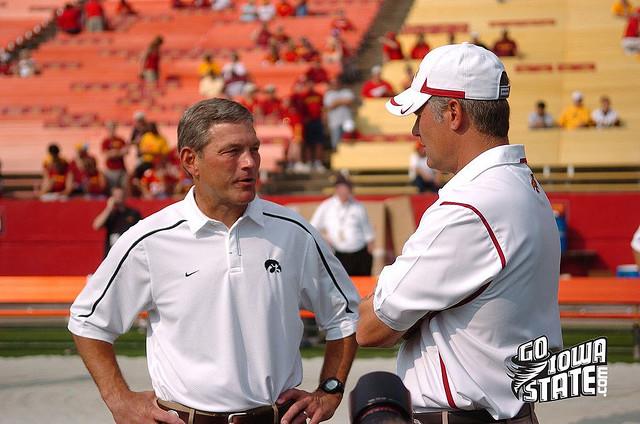 lg Paul Rhoads and Kirk Ferentz