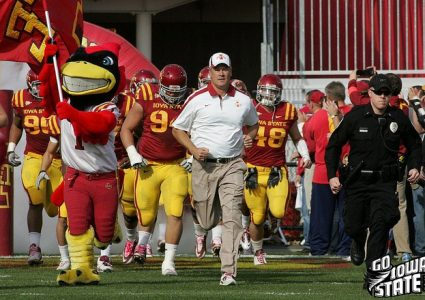 lg Paul Rhoads enters vs AM 2011