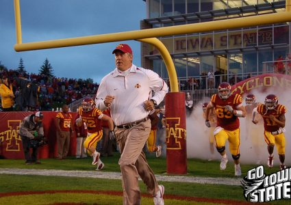 lg Paul Rhoads leads team vs