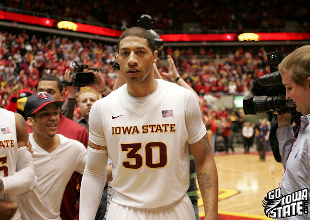 lg Royce White after KSU win